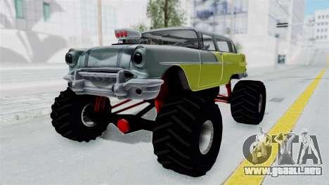 Pontiac Safari 1956 Monster Truck para la visión correcta GTA San Andreas