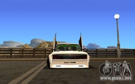 VAZ 2107 Race para GTA San Andreas left