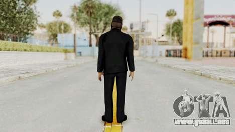 Wanted Weapons Of Fate Bodyguard para GTA San Andreas tercera pantalla