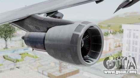 Boeing 747-200 American Airlines para la visión correcta GTA San Andreas
