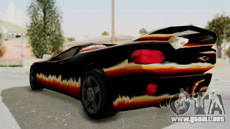GTA 3 Diablos Infernus para GTA San Andreas left