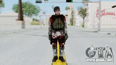 Black Mesa - Wounded HECU Marine Beret para GTA San Andreas segunda pantalla