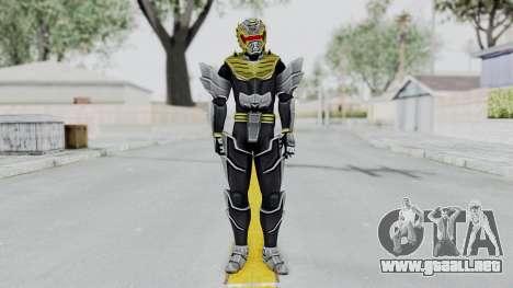 Power Rangers Megaforce - Knight para GTA San Andreas segunda pantalla