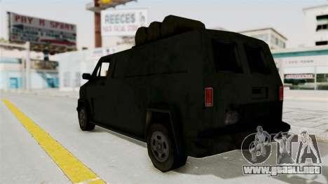 Boodhound Burrito - Manhunt 2 para GTA San Andreas left