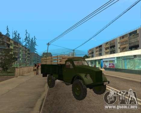 Lado Del Gas 63 para GTA San Andreas left