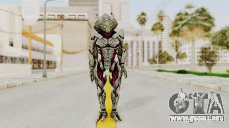 Mass Effect 3 Collector Captain para GTA San Andreas segunda pantalla