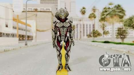Mass Effect 3 Collector Captain para GTA San Andreas segunda pantalla