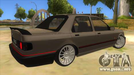 Ford Sierra Sapphire Cosworth para la visión correcta GTA San Andreas