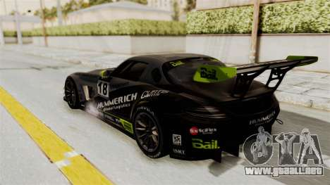 Mercedes-Benz SLS AMG GT3 PJ3 para las ruedas de GTA San Andreas