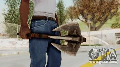 Skyrim Iron Mace para GTA San Andreas tercera pantalla