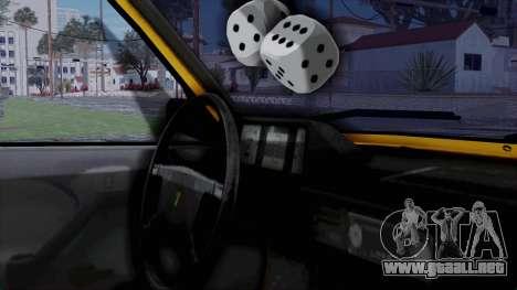 Tofas Kartal Taxi para la visión correcta GTA San Andreas