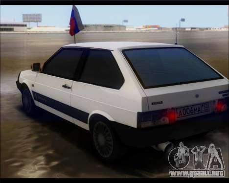VAZ 2108 Militares Clásicos para GTA San Andreas left