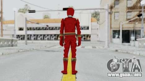 Power Rangers Dino Thunder - Red para GTA San Andreas tercera pantalla