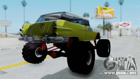 Pontiac Safari 1956 Monster Truck para GTA San Andreas left