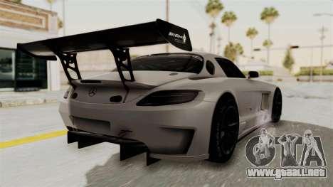 Mercedes-Benz SLS AMG GT3 PJ3 para GTA San Andreas left