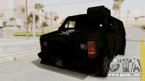 Boodhound Burrito - Manhunt 2 para GTA San Andreas vista posterior izquierda