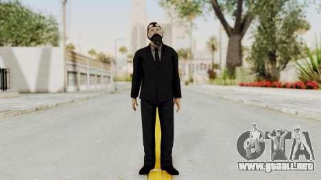 Wanted Weapons Of Fate Bodyguard para GTA San Andreas segunda pantalla