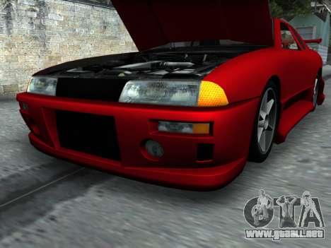 Elegy PFR v1.0 para vista inferior GTA San Andreas