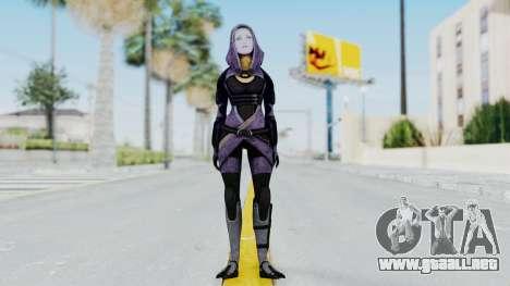 Mass Effect 3 Tali Zorah Unmasked para GTA San Andreas segunda pantalla