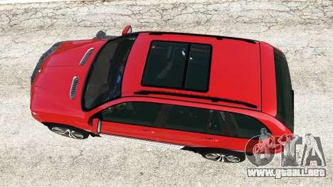GTA 5 BMW X5 (E53) 2005 vista trasera