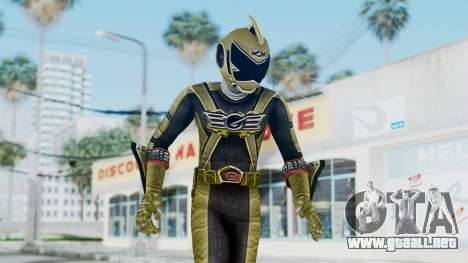 Power Rangers RPM - Gold para GTA San Andreas