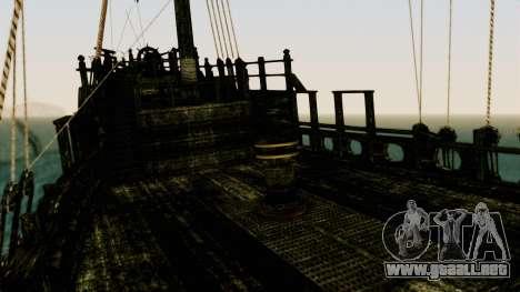 Flying Dutchman 3D para visión interna GTA San Andreas