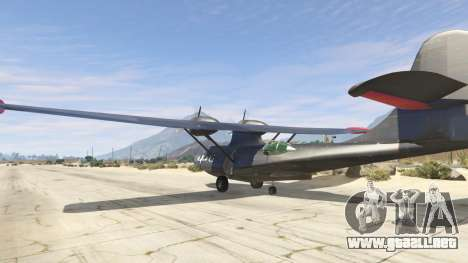 PBY 5 Catalina para GTA 5