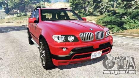 BMW X5 (E53) 2005 para GTA 5