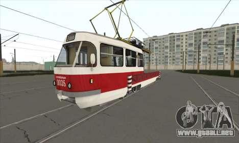 Tatra T3 servicio para GTA San Andreas