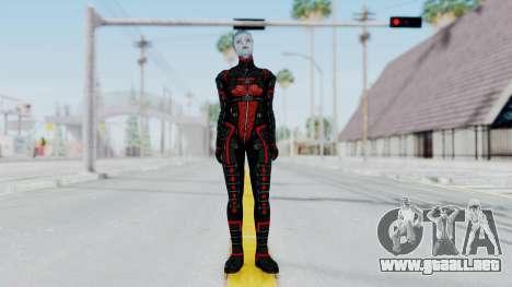 Mass Effect 2 Monrith Commando para GTA San Andreas segunda pantalla