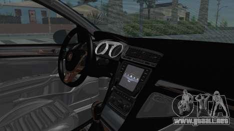Volkswagen Golf 7 Stance para visión interna GTA San Andreas