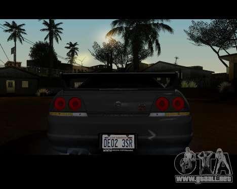Nissan R33 GT-R Tunable para la visión correcta GTA San Andreas