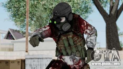 Black Mesa - Wounded HECU Marine v1 para GTA San Andreas
