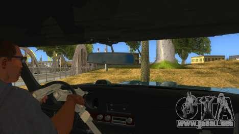 1969 Pontiac GTO Monster Truck para visión interna GTA San Andreas