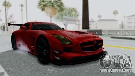 Mercedes-Benz SLS AMG GT3 PJ6 para la visión correcta GTA San Andreas