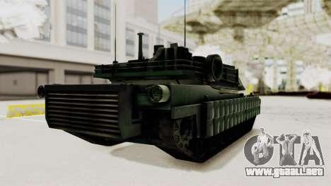 M1A2 Abrams Woodland Croatian para la visión correcta GTA San Andreas
