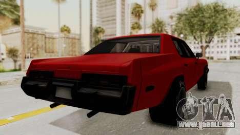 Dodge Monaco 1974 Drag para GTA San Andreas left