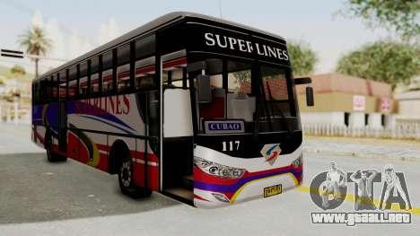 Superlines Ordinary Bus para GTA San Andreas