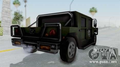 Patriot from Manhunt 2 para la visión correcta GTA San Andreas