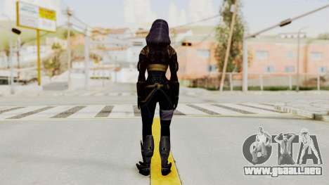 Mass Effect 3 Tali Armor para GTA San Andreas tercera pantalla