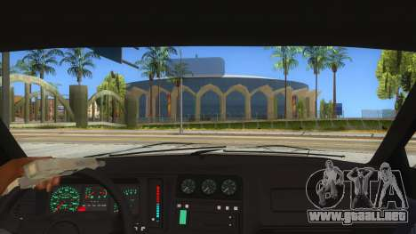 Ford Sierra Sapphire Cosworth para visión interna GTA San Andreas