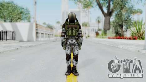 Monolith Scientific Suit para GTA San Andreas segunda pantalla