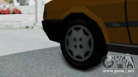 Tofas Kartal Taxi para GTA San Andreas vista posterior izquierda