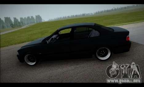 BMW 525i para GTA San Andreas left
