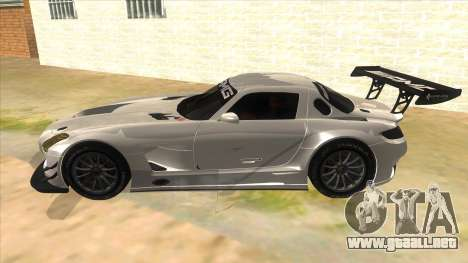Mercedes Benz SLS AMG GT3 para GTA San Andreas left