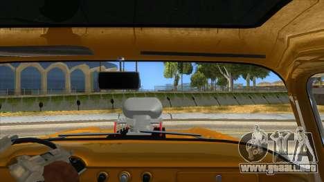 1958 Chevrolet Apache Monster Truck para visión interna GTA San Andreas