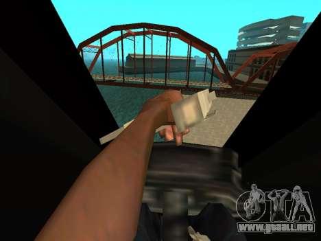 The Dark Knight Rises BAT v1 para visión interna GTA San Andreas