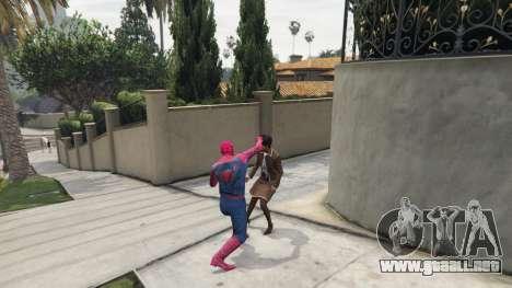 GTA 5 Spider-man tercera captura de pantalla