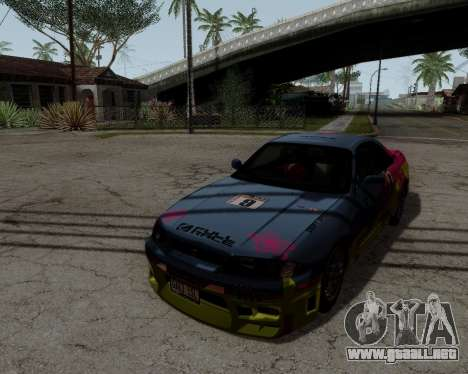Nissan R33 GT-R Tunable para vista inferior GTA San Andreas
