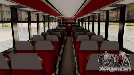 Superlines Ordinary Bus para visión interna GTA San Andreas